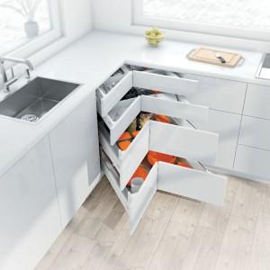 Ador Mobila Brasov - Mobilier la comanda bucatarie moderna Blum sertare