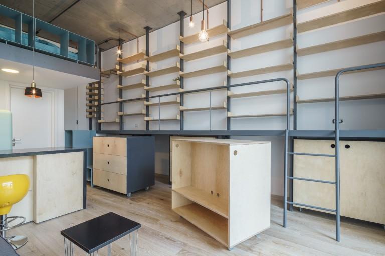 mobilare studio placaj statificat la comanda brasov concept